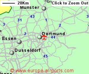 Dortmund Wickede Airport Germany DTN Guide Flights - Germany map dortmund