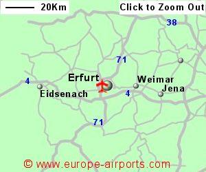 ErfurtWeimar Airport Germany ERF Guide Flights