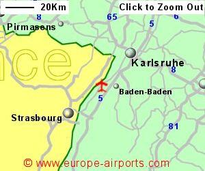 Map Of Germany Karlsruhe Baden.Karlsruhe Baden Baden Airport Germany Fkb Guide Flights