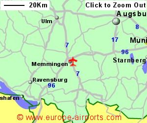 Memmingen Airport Germany FMM Guide Flights - Germany map airports