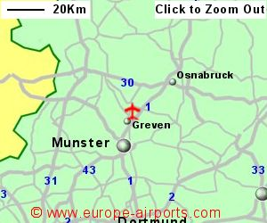 MunsterOsnabruck Airport Germany FMO Guide Flights - Germany map munster