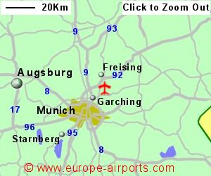 Munich Franz Josef Strauss International Airport Germany MUC