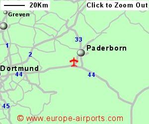 PaderbornLippstadt Airport Germany PAD Guide Flights