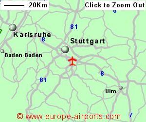 Stuttgart Map Of Germany.Stuttgart Echterdingen Airport Germany Str Guide Flights
