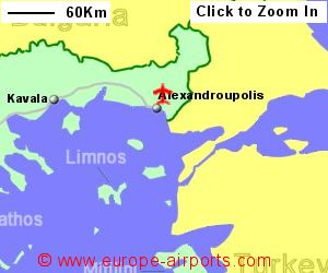 Alexandroupolis Dimokritos Airport Greece AXD Guide Flights