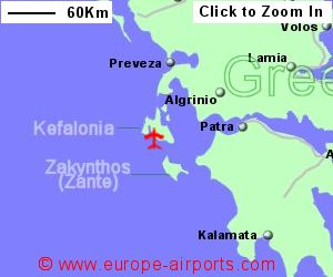 Kefalonia Airport Greece EFL Guide Flights