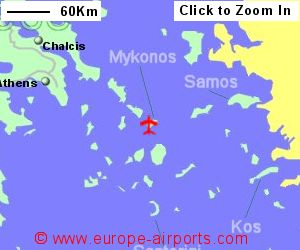 Mykonos Airport Greece JMK Guide Flights