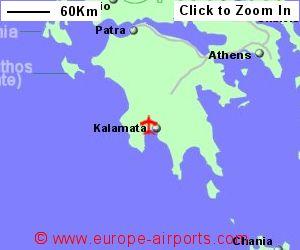 Kalamata Airport Greece KLX Guide Flights