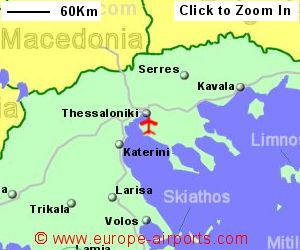 Thessaloniki Macedonia Airport Greece SKG Guide Flights