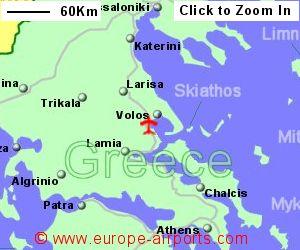 Volos Nea Anchialos Airport Greece VOL Guide Flights