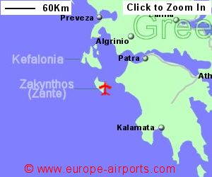 Zakynthos Zante Dionysios Solomos Airport Greece ZTH Guide