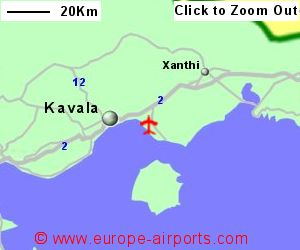 Kavala Megas Alexandros Airport Greece KVA Guide Flights