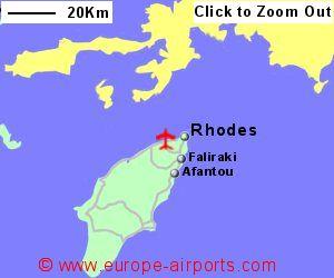 Rhodes Diagoras Airport Greece RHO Guide Flights