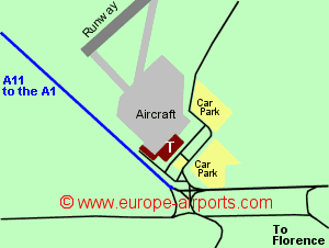 Map Of Italy Showing Florence.Florence Peretola Airport Italy Flr Guide Flights