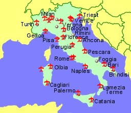 Airports in Italy Sicily and Sardinia Guide Flights