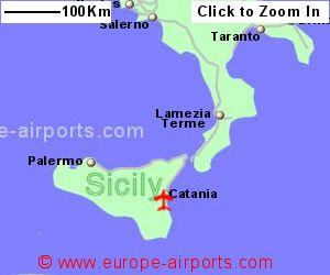 CataniaFontanarossa Airport Italy CTA Guide Flights