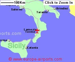 Lamezia Terme Airport Italy SUF Guide Flights