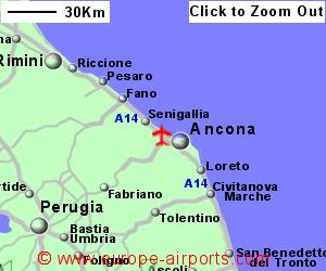 Ancona Marche Airport Italy AOI Guide Flights