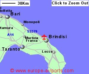Brindisi Airport Italy BDS Guide Flights