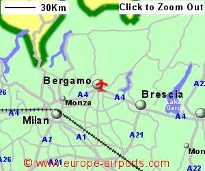 Bergamo Il Caravaggio Airport Italy Bgy Guide Flights