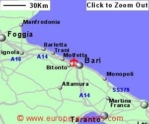 Car Hire Comparison Bari Italy