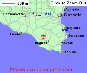 Comiso Vincenzo Magliocco Airport Italy CIY Guide Flights - Syracuse map italy