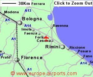 Forli Italy Map.Forli Airport Italy Frl Guide Flights