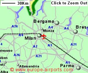 Milan Linate Airport Italy LIN Guide Flights