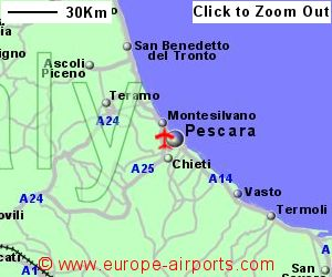 Abruzzo International Pescara Airport Italy PSR Guide Flights