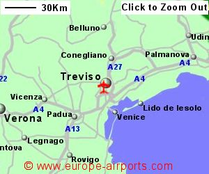 TrevisoSan Angelo Treviso Airport Italy TSF Guide Flights