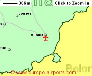 Vilnius Airport Lithuania VNOGuide Flights