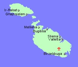 Flights to Airports in Malta