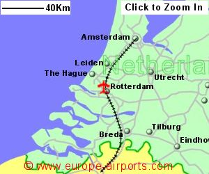 Rotterdam The Hague Airport Netherlands RTM Guide Flights