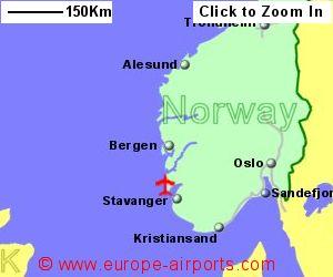 Haugesund Airport Norway HAU Guide Flights - Norway map haugesund