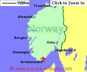 Kristiansand Kjevik Airport Norway KRS Guide Flights
