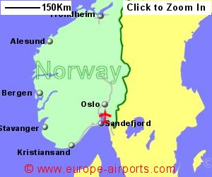 Rygge Moss Airport Norway RYG Guide Flights - Norway map with airports