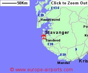 Stavanger Airport Norway SVG Guide Flights - Norway map stavanger