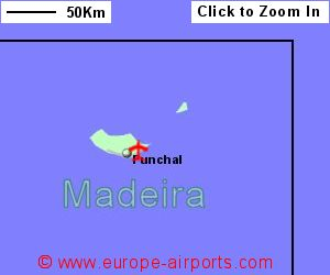 Madeira Funchal Airport Portugal FNC Guide Flights - Portugal map airports