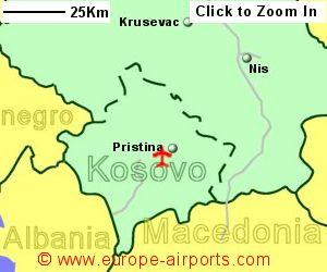 Pristina Airport Serbia PRN Guide flights