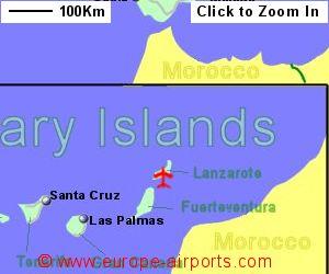 Map Of Spain Lanzarote.Lanzarote Arrecife Airport Spain Ace Guide Flights