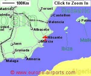 flights to alicante spain from london