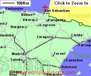 San Sebastian Airport Spain EAS Guide Flights