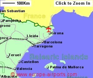 Girona Gerona Costa Brava Airport Spain GRO Guide Flights