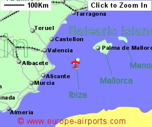 Ibiza Airport Spain IBZ Guide Flights