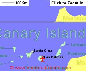Map Of Spain Gran Canaria.Gran Canaria Las Palmas Airport Spain Lpa Guide Flights