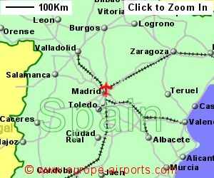 Map Of Spain Showing Airports.Madrid Barajas Adolfo Suarez Airport Spain Mad Guide Flights