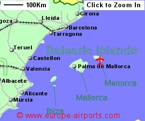 Mahon Menorca Airport Spain MAH Guide Flights