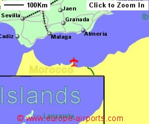 Melilla Spain Map.Melilla Airport Spain Mln Guide Flights