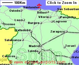 Santander Seve Ballesteros Airport Spain SDR Guide Flights