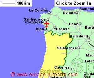 Map Of Spain Vigo.Vigo Peinador Airport Spain Vgo Guide Flights